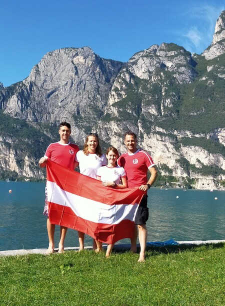 Österreichisches Apnea Nationalteam bei den CAMPIONATI ITALIANI APNEA OUTDOOR 2020 in Riva del Garda - Italien