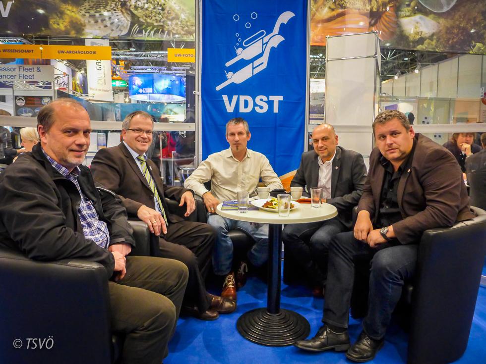 Treffen der Präsidenten VDST und TSVÖ