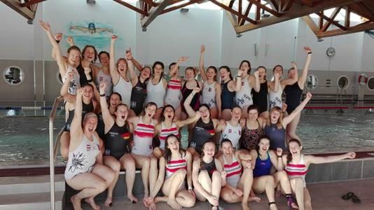 Damen Unterwasserrugby Team